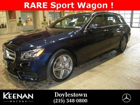 Certified Pre Owned 2017 Mercedes Benz E Cl 400
