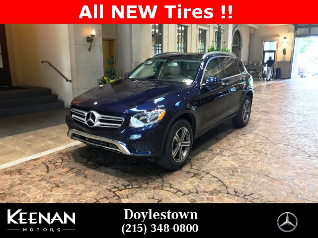 Certified Pre Owned 2016 Mercedes Benz Glc 300