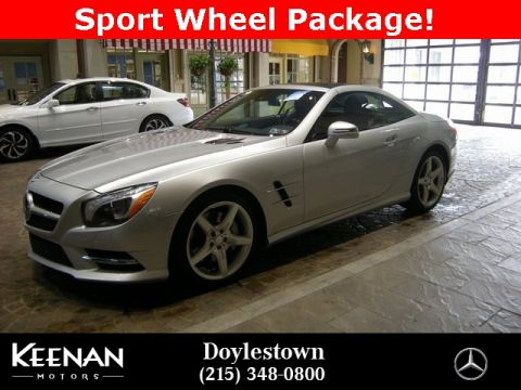 Certified Pre-Owned 2013 Mercedes-Benz SL-Class SL 550